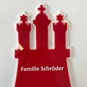 Familienschild Hamburg