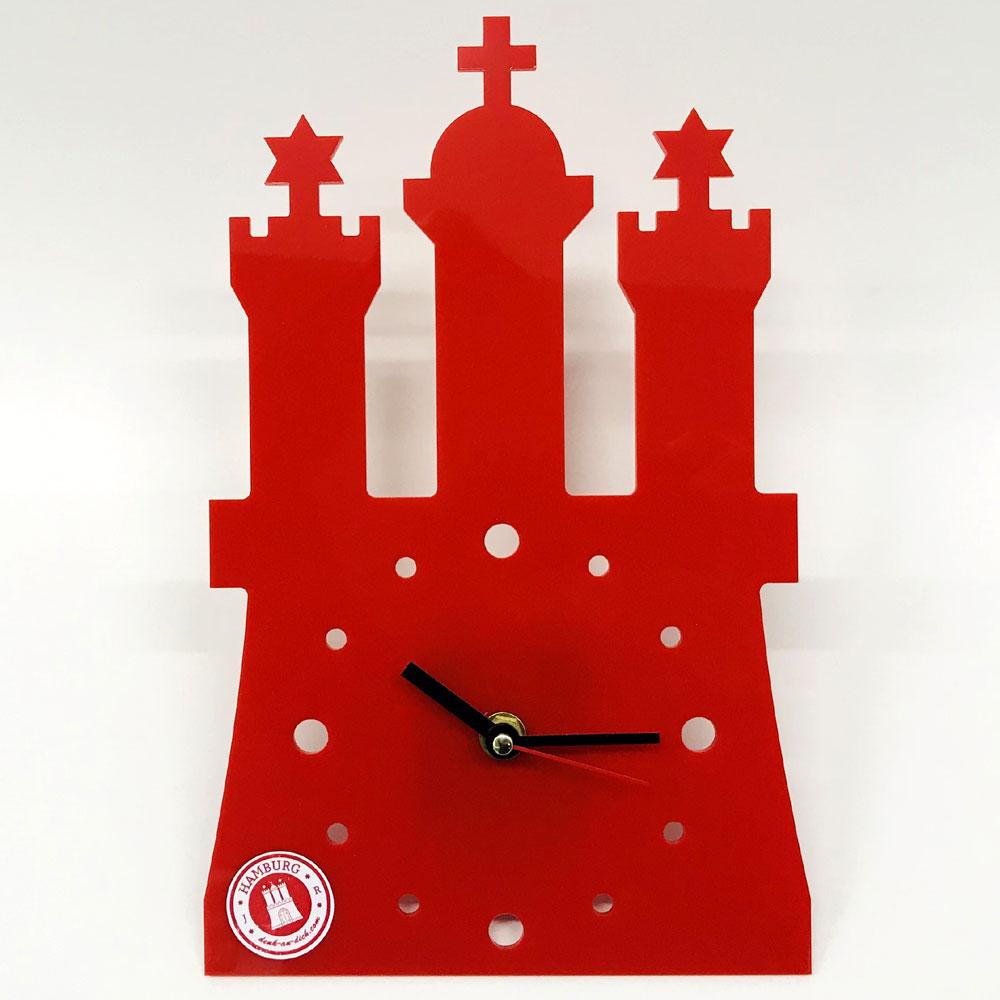 Hamburg Uhr Wanduhr Küchenuhr Hamburg Wappen